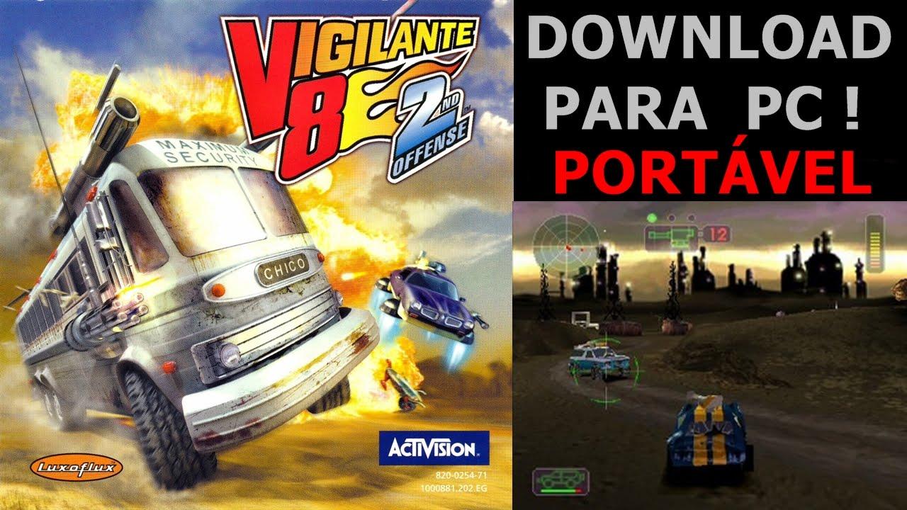 Download Vigilante 8 Para Pc Portavel Com Teste Youtube