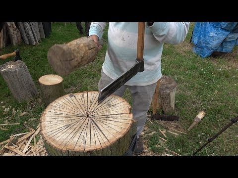Making Roof Shingles With Hand Tools