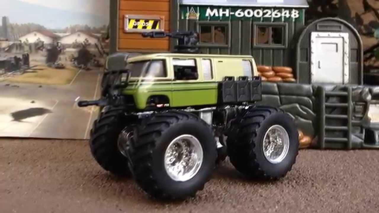 Zombie Apocalypse Truck >> HOT WHEELS ZOMBIE APOCALYPSE MONSTER TRUCK FNL CUSTOM CONTEST ENTRY - YouTube