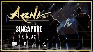 KINJAZ | ARENA SINGAPORE 2017 (JUDGES SHOWCASE)