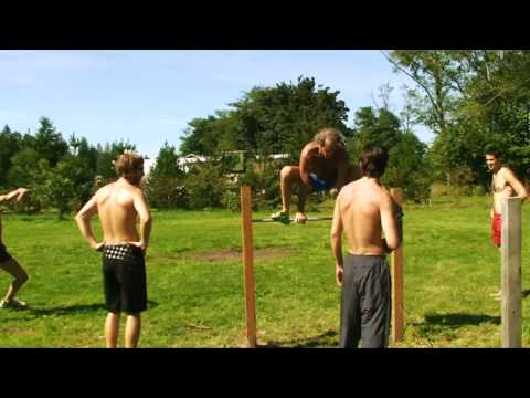 Health and Fitness Week, low-fat vegan raw food diet and sports camp
