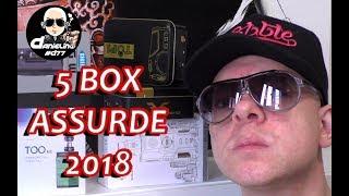 LE 5 BOX PIÙ ASSURDE PER LO SVAPO di Inizio 2018