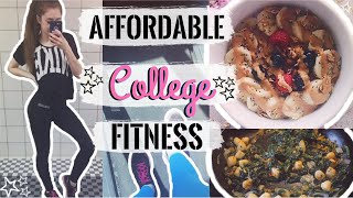 This video is about how i eat healthy and stay fit in college on a budget! discuss affordable techniques to eating meals/foods/groceries, working o...