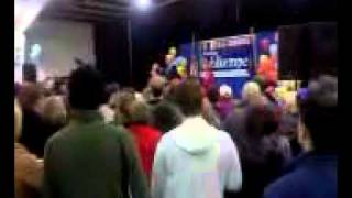 President Clinton campaigning in Erie, PA 2010 (part 3)
