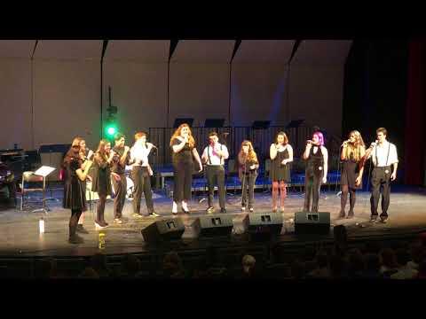 """Hide and Seek"" arr. Joseph Bates - Soquel High School Jazz Singers 17-18"