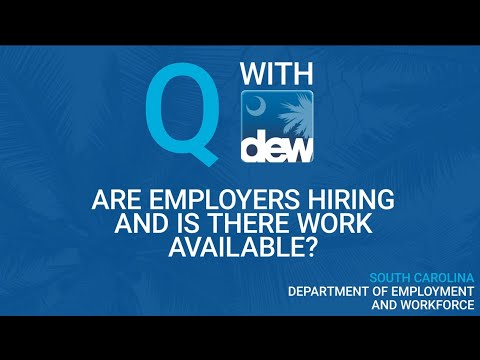 Are Employers Hiring And Is There Work Available?