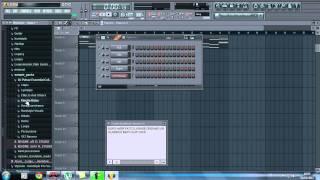"""Creare una canzone/remix electro e farla """"partire"""" FL STUDIO 10[GrossBeat,Delay,Reverb]PARTE 1"""