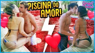 CASAL VS CASAL: PISCINA DO AMOR!! [ REZENDE EVIL ]