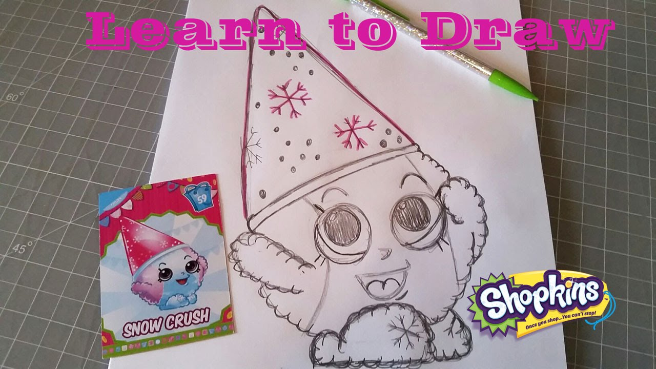 shopkins snow crush coloring pages - photo#30