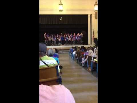 Johnson Traditional Middle School 7th grade choir: Jar of H