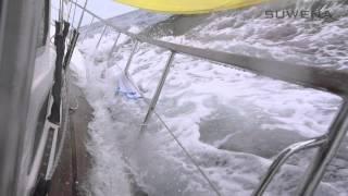 Broaching Nauticat 441