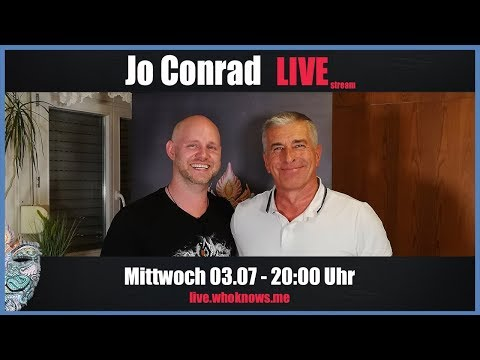 ???? Jo Conrad Live! Bewusst.TV @ WhoKnows