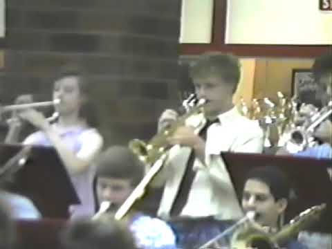 GHS Spring Concert 1989 - Jazz and Dixieland Bands