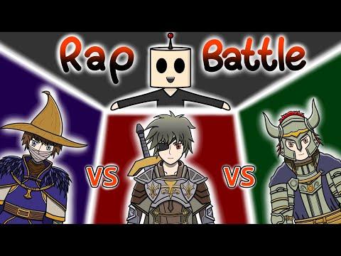 Rap | นักดาบ vs นักเวทย์ vs แทงค์ | เมื่อตัวละครเกม Rap Battle