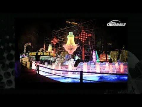 Harbin's mystical ice park