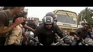 Thala Ajith Bike Race in Salem for Vedhalam|Thala bike race update
