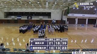 【LIVE】第42回総合関関戦 ハンドボール男子 20190616