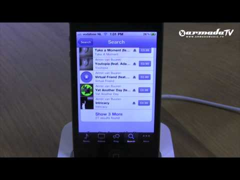 Download Armada Music ringtones on your iPhone!