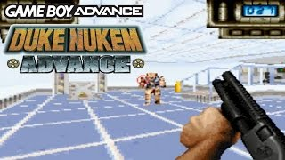 Review and Gameplay - DUKE NUKEM ADVANCE - GBA - 1080HD