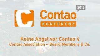 Keine Angst vor Contao 4 – Contao Konferenz 2017 #ck2017