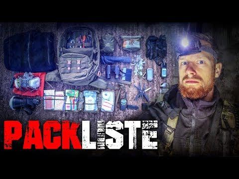 LOST PLACES Rucksack Inhalt Packliste - Loadout Ausrüstung | Fritz Meinecke