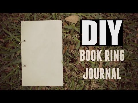 DIY Book Ring Journal