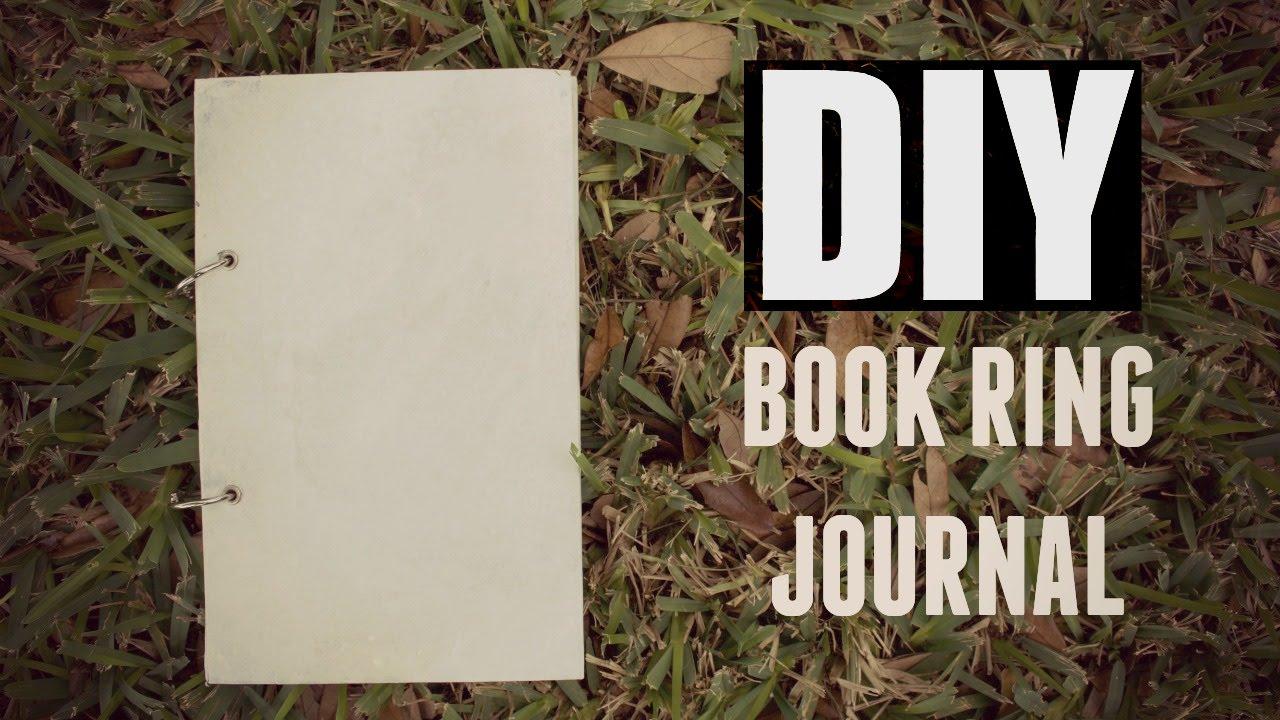 Diy book ring journal youtube diy book ring journal solutioingenieria Choice Image