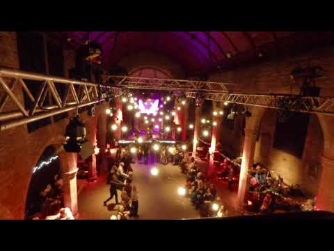 Scottish Ceilidh Dancing At Hogmanay In Edinburgh With HotScotch Ceilidh Band In Assembly Roxy