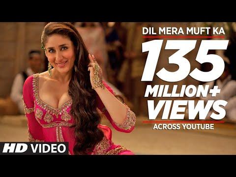 """Dil Mera Muft Ka"" Full Song | Agent Vinod | Kareena Kapoor"