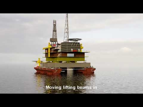 Single Lift Vessel Platform Removal