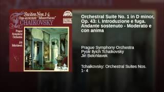 Orchestral Suite No. 1 in D minor, Op. 43: I. Introduzione e fuga. Andante sostenuto - Moderato...
