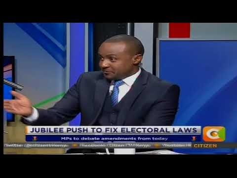 Power Breakfast: push for electoral laws