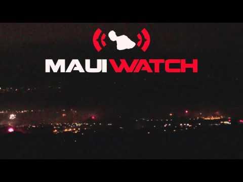 NYE 2016 over Central Maui