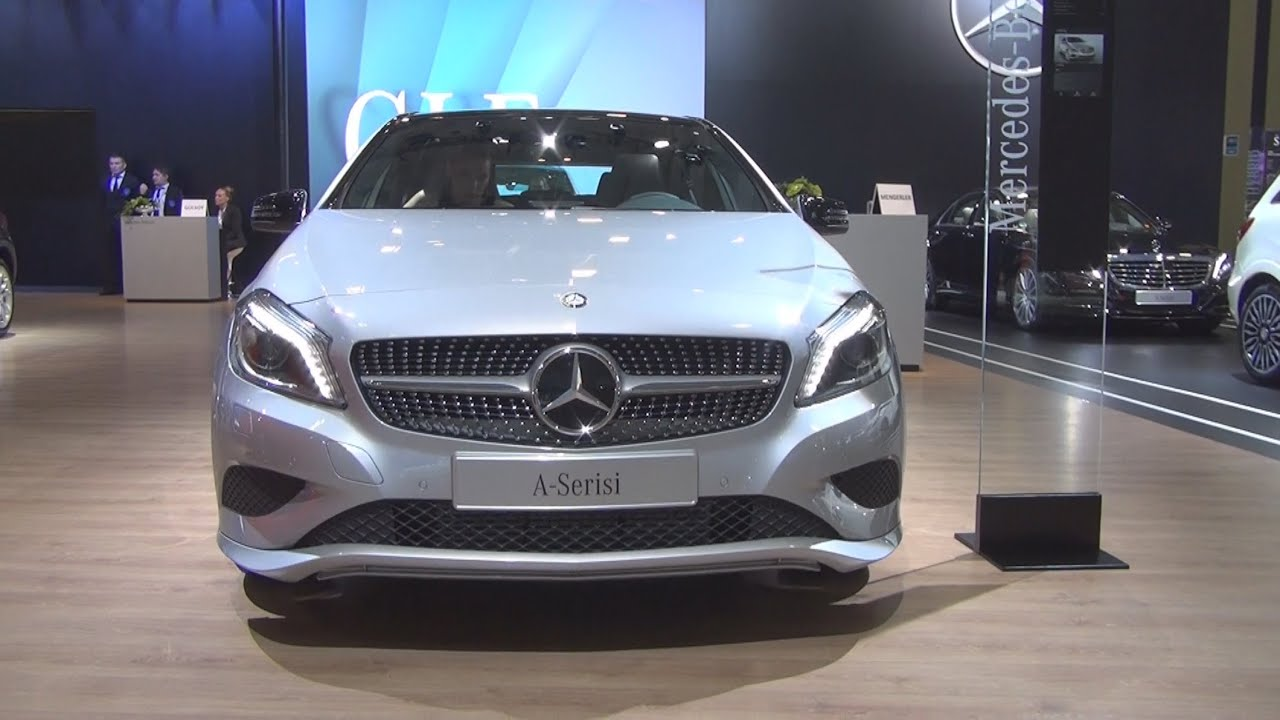 mercedes benz a 180 urban 2015 exterior and interior in 3d youtube. Black Bedroom Furniture Sets. Home Design Ideas