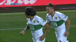 Video Gol Pertandingan Elche vs Rayo Vallecano