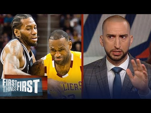 Nick Wright on what LeBron to Lakers means for Kawhi, PG13 on OKC | NBA | FIRST THINGS FIRST