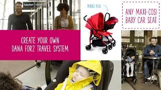 Видео: Maxi-Cosi Dana 2 прогулочная коляска для двойни