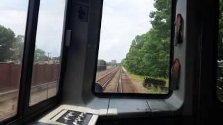 MBTA red line Braintree to JFK/UMASS station ride along