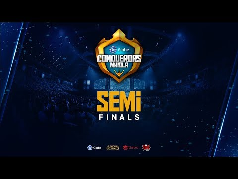 Globe Conquerors Manila | Semifinals | ASC vs KLH | MG vs RS