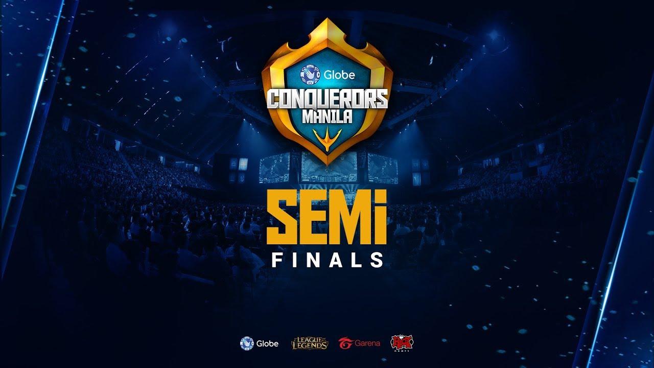 Globe Conquerors Manila   Semifinals   ASC vs KLH   MG vs RSG