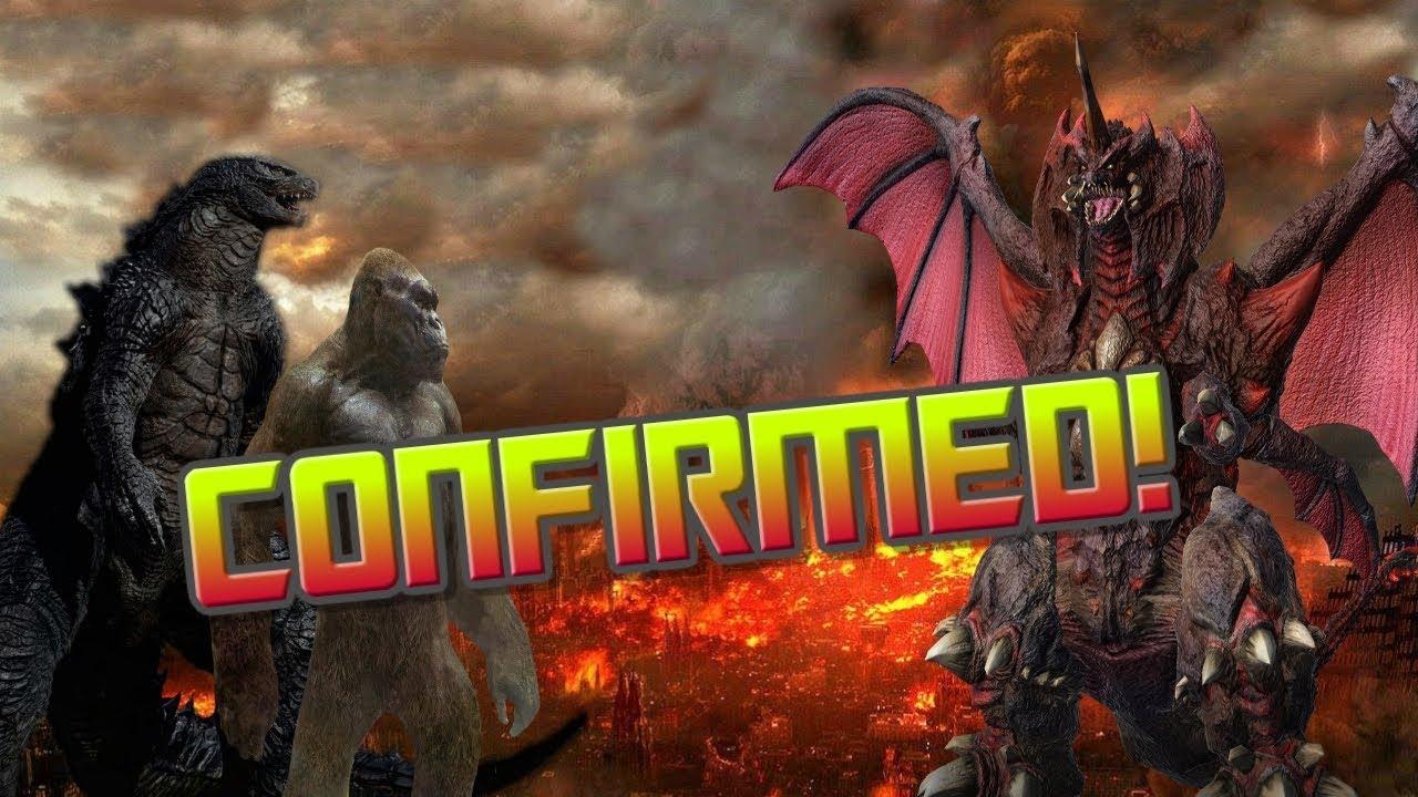 Godzilla vs Kong (2020) MORE MONSTERS CONFIRMED?! - YouTube