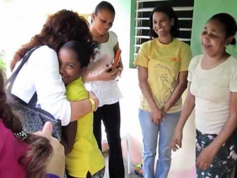 World vision sponsor visit - Dominican Republic