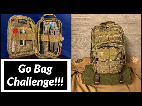 Go Bag Challenge | Nutnfancy Inspired!