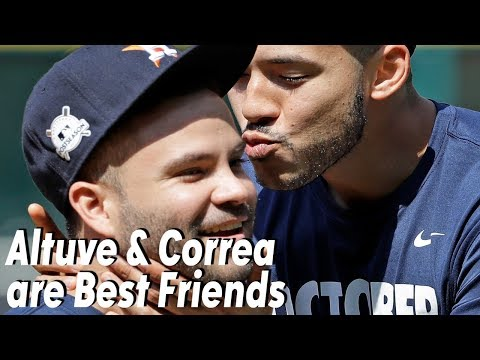 PROOF: Jose Altuve and Carlos Correa are Besties