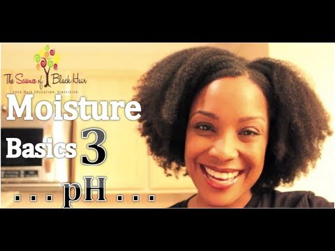 The Science of Black Hair on pH Problems & pH Balancing (Moisture Basics 3/4)