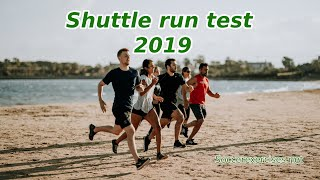 Shuttle run / Beeptest 2019 (with music and free mp3 download) - Soccer Exercises #02