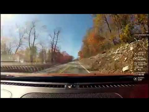 Scenic drive through Huntingdon and Franklin counties Pennsylvania - 2