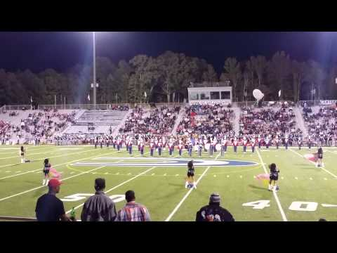 Centerpoint high school marching eagles 10/3/2014