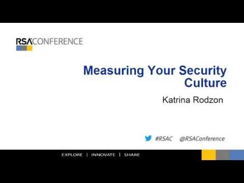 Measuring Your Security Culture