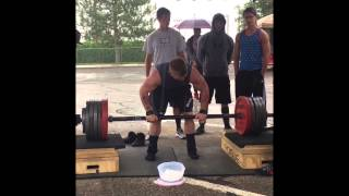 Gene Anderton 2015 Strongman Competition